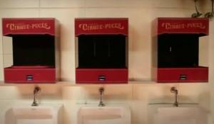 разместить рекламу в туалетах