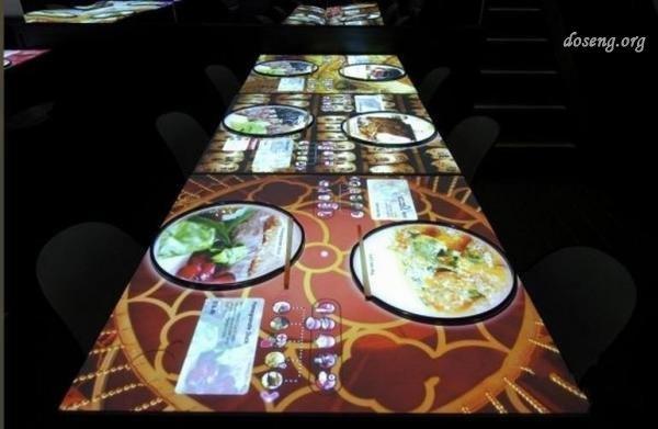 Интерактивные столы в кафе купить