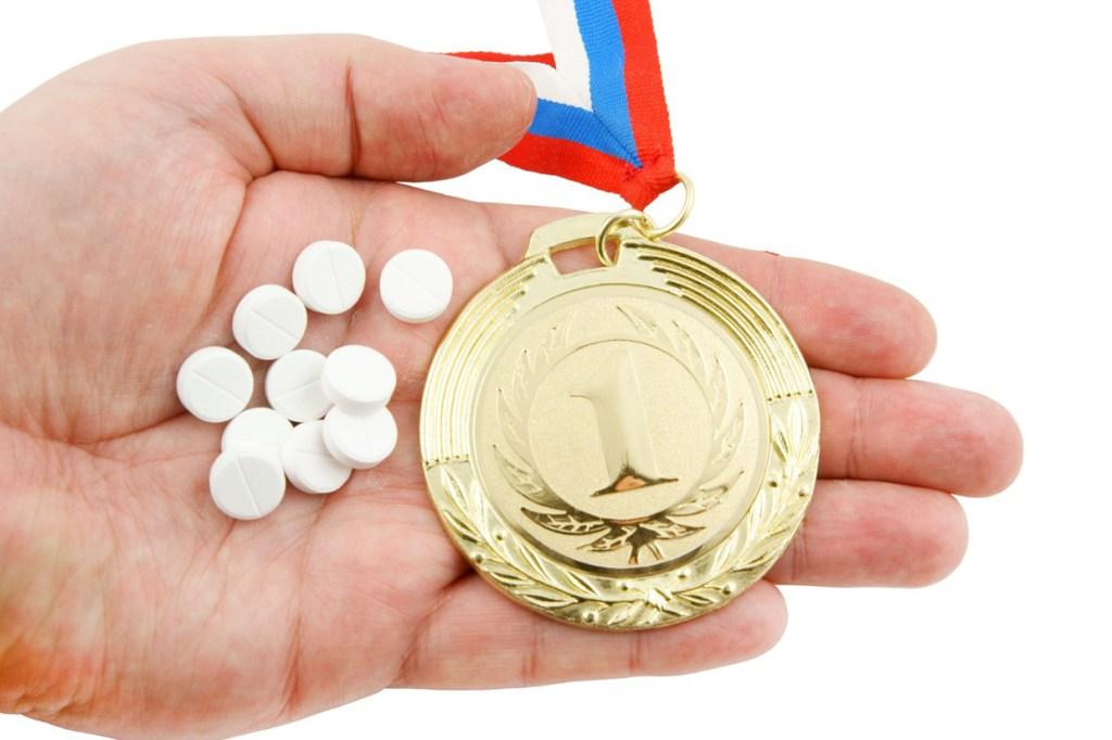 Реклама аптеки на спортивных соревнованиях