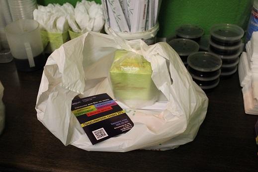 Рекламный флаер с доставкой суши