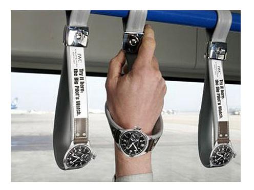 Вирусный маркетинг часов IWC.