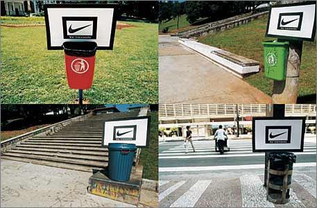 Партизанский маркетинг от Nike