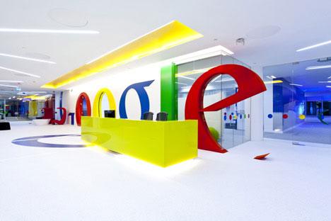 офис гугл интерьер1