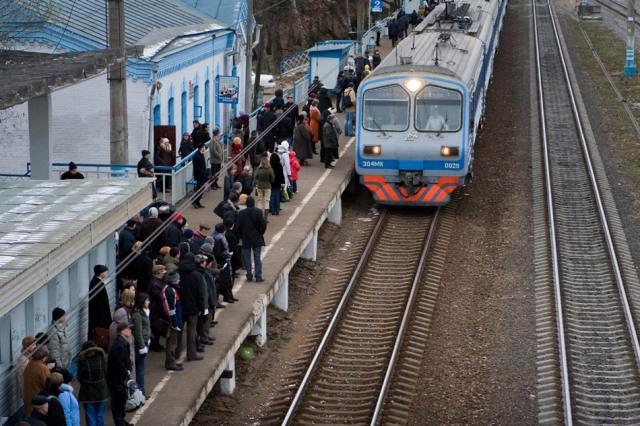 платформа поезда