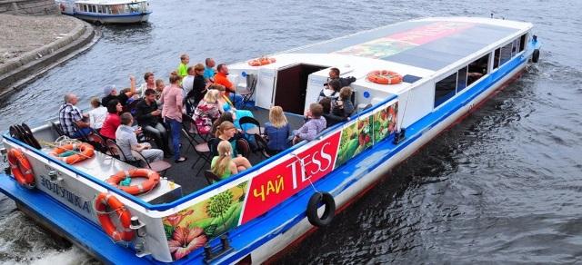 реклама на водном транспорте