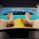 Реклама в самолетах