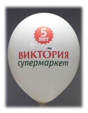 реклама на воздушных шарах