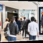 Indoor-реклама в торговых центрах