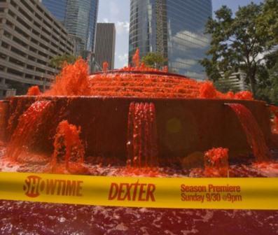 реклама фонтан кровь