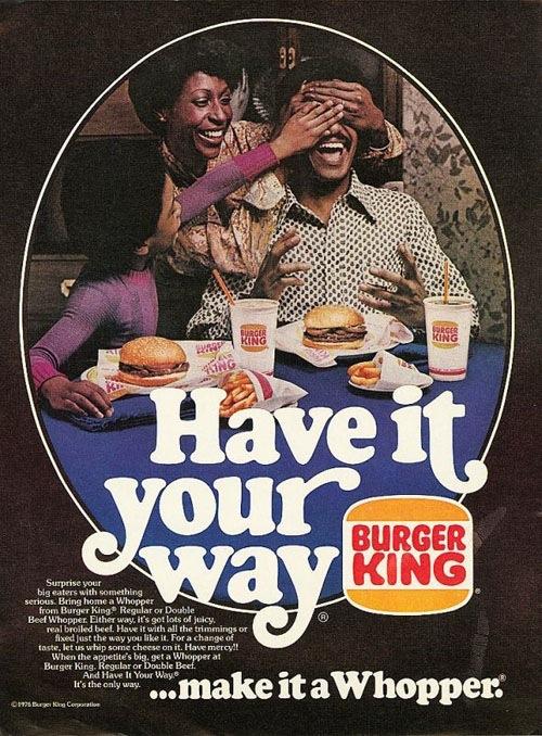 Burger King 1976