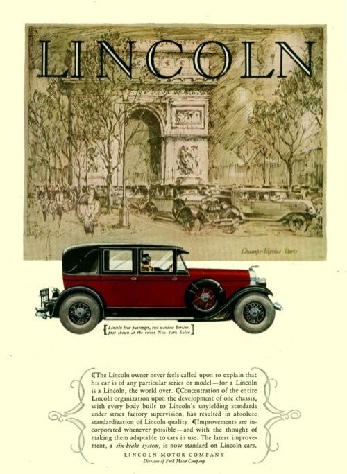 Lincoln 1928