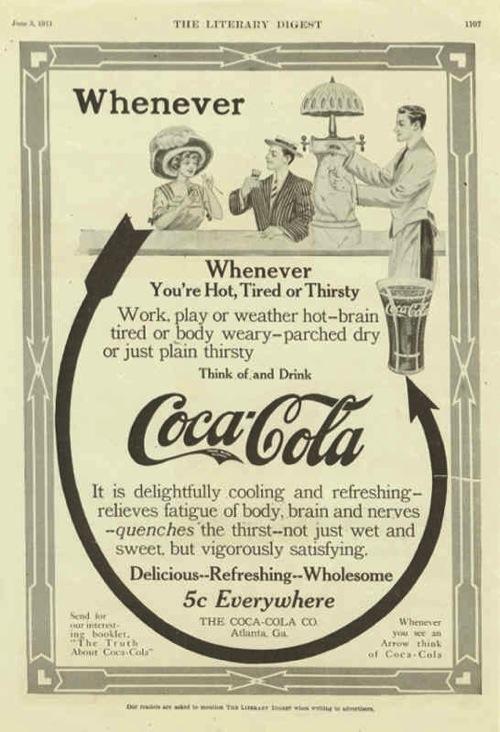 кока-кола 1911